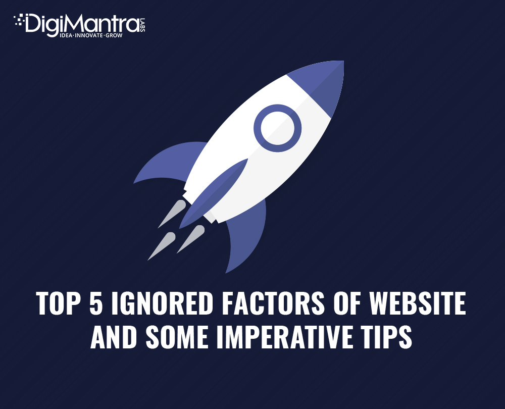 ignored factors of website