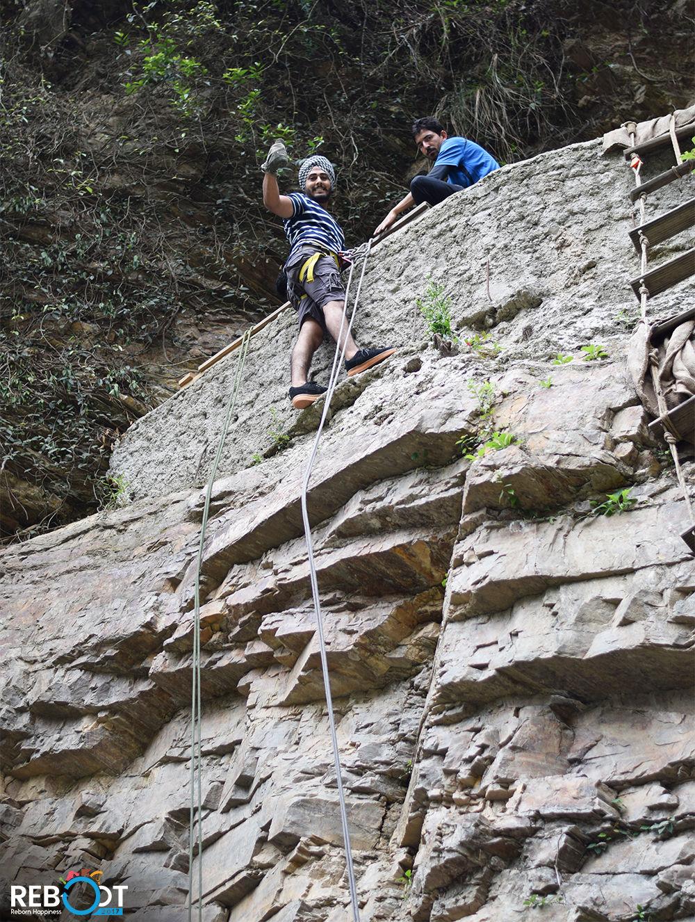 Rock Climbing at Hail Himalayas
