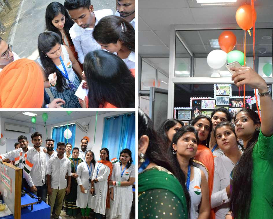 Independence Day at office