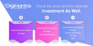 Digital marketing price