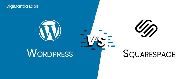 WORDPRESS vs SQUARESPACE Technology