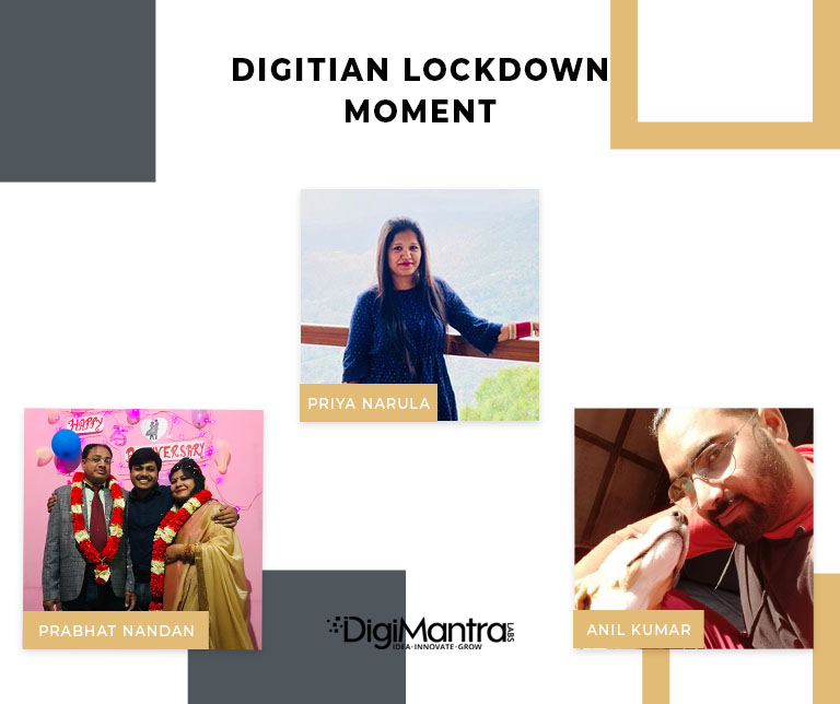 Digitian lockdown moment