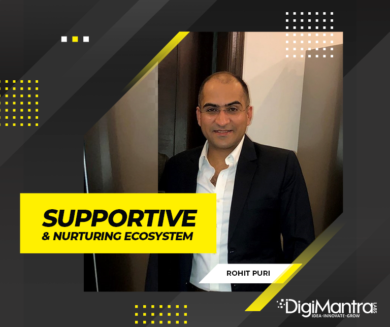 First day at digimantra labs rohit puri