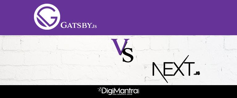 Gatsby.js vs Next.js
